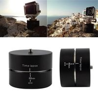 360 Degree Rotating 60mins For GoPro Hero 5 Session/ 4s/ 4/ 3+/ 3/SJ5000 SJ6000 SJ4000/DSLR Time Lapse Stabilizer Tripod Adapter