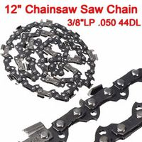 """MTGATHER 12"""" Meatal Chainsaw Saw Chain Blade 3/8""""LP .050 44DL Blade Quickly Cut Wood Easy Maintenance New Arrival"""