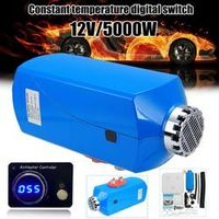 Autoleader 12V 5000W Constant temperature digital switch Air diesels Fuel Heater 5KW
