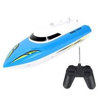 LeadingStar RC Speed Racing Boat Radio Remote Control RTR Electric Dual Motor Toy Boats Color Random Great Children Gift