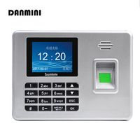 DANMINI A3 Biometric Fingerprint Time Attendance USB drive Clock Recorder Voice