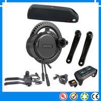EU US No taxes version 750W Bafang BBS02B mid drive electric motor kit with 48V 16Ah