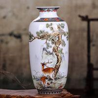 enhancement Jingdezhen Ceramic Vintage Chinese Style Vase
