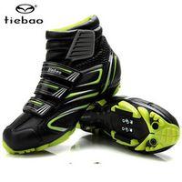 Tiebao Cycling Shoes For Women Men Winter Cycling MTB bike Self-locking Bicycle