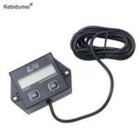 kebidumei Digital timers Hour Meter Tachometer Gauge LCD Display For Moto Marine Boat