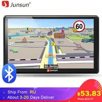 Junsun 7 inch HD Car GPS Navigation FM Bluetooth AVIN Europe Map Upgrade Sat nav