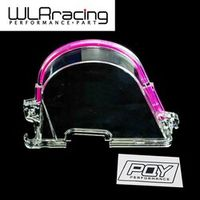 WLRING - CLEAR CAM GEAR TIMING BELT COVER TURBO PULLEY FOR HONDA 96-00 EK WITH PQY