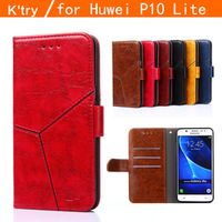 "Huawei P10 Lite Case 2017 Luxury Flip Leather Case For Huawei P10 Lite Wallet Book Cover Hawei P10 Lite P10Lite 5.2"" Phone Cases"