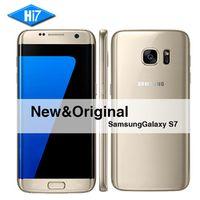 New Original Samsung Galaxy S7 SmartPhone 5.1 inch 4GB RAM 32GB ROM Octa Core NFC GPS 12MP 4G LTE Waterproof mobile phone