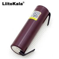 4pcs. Liitokala HG2 18650 3000 mAh Electronic Cigarette Rechargeable Battery