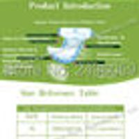 Adults Age Group and Printed Feature strength paper disposable breathable diapers