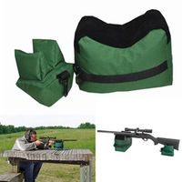 Front Rear Benchbags Shooting Rest Bag Set Rifle Target Bench Unfilled Stand Hunting