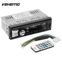 Vehemo Black MP3 Player SD MMC USB Car MP3 Premium Automobile Stereo