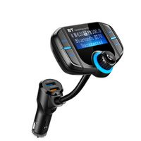 CDEN Bluetooth player MP3 FM transmitter TF Card music player Dual USB mobile phone Quick Charge 3.0 Charger Bluetooth Car Kit