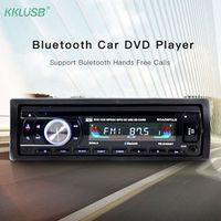 kklusb Autoradio 1 DIN Car DVD CD Bluetooth Auto audio FM Receiver MP3 Player WMA MMC