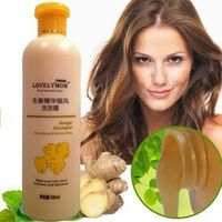 Ginger Shampoo Professional Scalp Treatment Healthy Growth Smoothing Anti Hair Loss