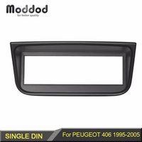 Moddod 1 Din Radio Fascia for Peugeot 406 Stereo Panel Dash CD Facia Audio Fittling