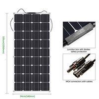 EPSOLAR Newly Flexible Solar Panel 12V 100W Watt Monocrystalline Solar Cell