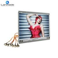 Lanmade 14 inch button control video led advertising screen display lcd