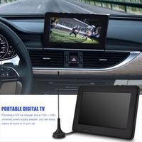 LEADSTAR Protable ISDB-T 7 Inches Rechargeable Digital Color Car TV Mini Television