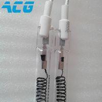 2 PCS carbon fiber heating pipe tube far infrared quartz