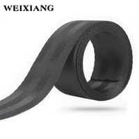 WEIXIANG 38mm Wide Roll Seat Belt High-grade Polyester Baby Car Seat Stroller