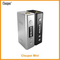 Original Cloupor Mini 30W Mod 510 Connector 7-30w Output Power By 18650 Not included Vape Coil Electronic Cigarette