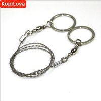 KopiLova 2pcs/lot Field Rescue Saw Protable Stainless Steel