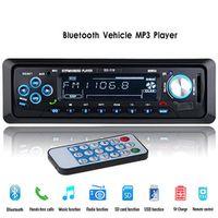 12V Car Radio Stereo Audio Player Bluetooth Phone AUX-IN MP3 FM/USB/1 Din/Remote Control Autoradio