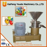 JMS-80 chemical type / colloid mill, Peanut Butter Machine, sesame grinder, sauce / paste making machine