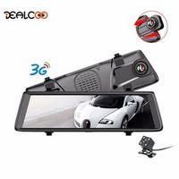 "Dealcoo Car DVRs 10"" Dash Cam Full Touch Screen 3G Android GPS Navigators FHD 1080P"