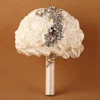 New Arrival Bridesmaid Wedding Bouquet Customized Wedding Flowers Bridal Bouquets Artificial Bridal Bouquet 2017