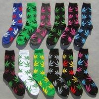 Harajuku Hemp Socks Lot Mens Skateboard 10 Pairs = 20 pieces Calzini Uomo Funny Brand Skate Sock Meias Calze Weed Socks For Man