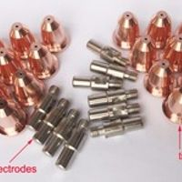 Torch Parts for CUT55 Non HF cutting PT60 10 Electrodes 20 Tips