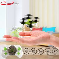FY804 4 CH 2.4G 2.2 cm 4 Axis 360 Degree Roll LED Plane Model Toys