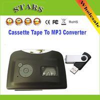 Nsendato Mini Protable cassette Magnetic tape mp3 USB Flash Driver converter player