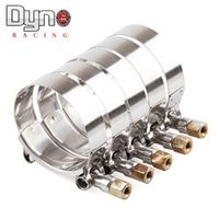 RYANSTAR RACING NEW Hot T Turbo 63mm Stainless Steel Bolt hose Clamp Kit DP006-63