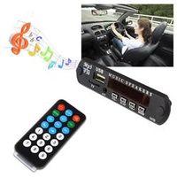 HEVXM Wireless Bluetooth 12V MP3 WMA Decoder Board Audio Module USB TF Radio For Car