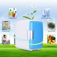 KONNWEI 4L 12V Mini Car Fridge Refrigerator Heating Food Electric Portable Icebox