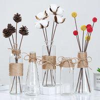 kurisuta Creative Nordic Glass Vases Flower Vase