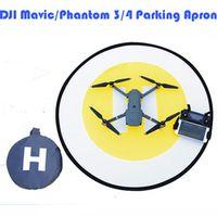 DJI Phantom 3 4 Landing pad Parking Apron Fluorescence Foldable Retractable Quadrotor Landing Pad For DJI Mavic Pro Free Ship