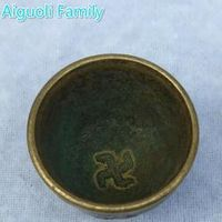 Aiguoli Family Collectibles Chinese Old Bronze Carved