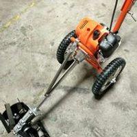 KINGTU Wheeled double hands push high-power light-duty weeding tillage machine