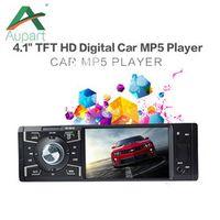 """aupart 1 DIN Car radio 5018 Multimedia Player HD 4""""Inch Digital Bluetooth MP3 MP4"""