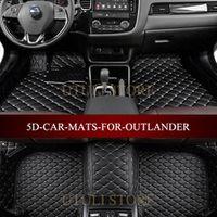 Leather Car floor mat carpet for Mitsubishi Outlander ASX Lancer Pajero Montero Grandis Dingo custom fit car carpet foot mats