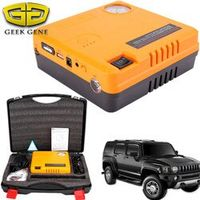 GEEK GENE Car Jump Starter Air Compressor 12V 400A Portable Charger For Car Battery