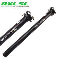RXL SL Road/MTB Mountain Bike Carbon PRO Seatposts Black 3K Gloss 27.2/30.8/31.6