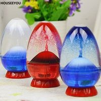 Movement Liquid Hourglass Creative Volcano Oil Sandglass