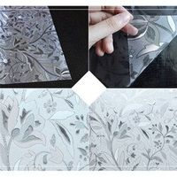 AIHOME 45x200cm wide Static 3D plastic paper heat