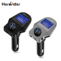 Herorider 5V 2.5A Mp3 Player Wireless USB TF Aux Car Kit Fm Transmitter Bluetooth
